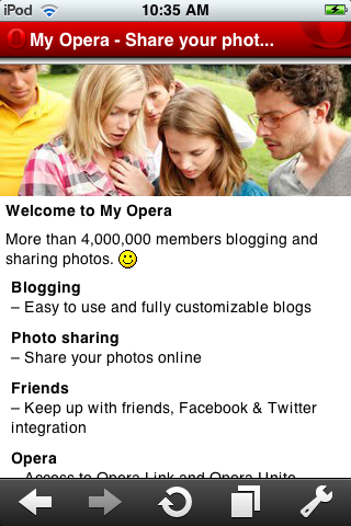 Apple Approves Opera Mini for iPhone and iPod Touch