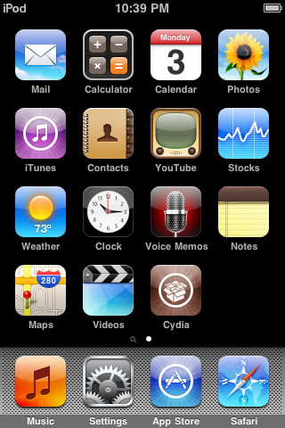 Untethered Jailbreak for iPod Touch 3G, OS 3.1.3