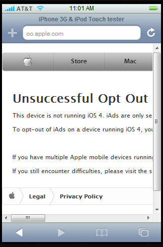 iads opt out How to Prevent iAds Collecting your Data