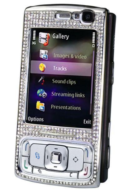 nokia n95 diamond 6 Most Expensive Nokia Cellphone Redesigns