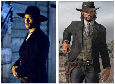 brad pitt Brad Pitt to Play John Marston in Red Dead Redemption Movie