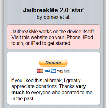 Jailbreak iPhone without using PC or Mac