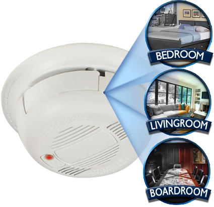 smoke detector camera Spy Camera comes to House Hold Items