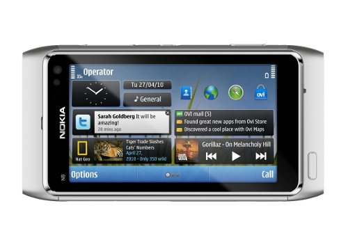 Nokia N8 Nokia N8 and Symbian^3 OS Review and Comparison