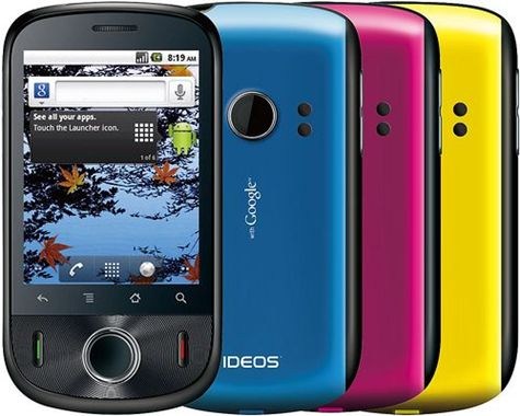 Huawei IDEOS colors Huawei Ideos U8150 B (with Google)   Review