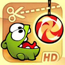 cut the rope iPhone Game Cut the Rope Application Review
