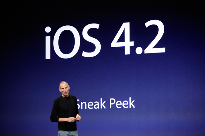 iOS 4.2 Apple iOS 4.2 Public Release Delayed, iPad Wi Fi Bug to be blamed