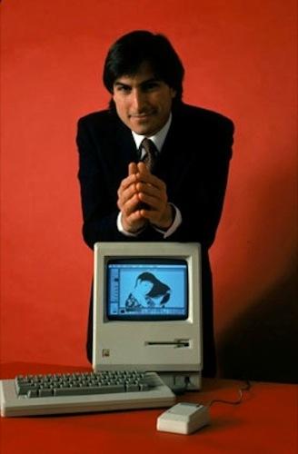 mac steve Steve Jobs: A Journey from Ashes to Billionaire   Photos