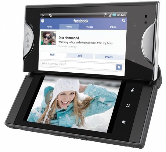 kyocera echo Sprint announces Kyocera Echo – first dual screen Smartphone