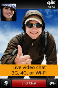 android video chat1 200x300 Qik Video Connect App allows multi platform mobile video chat Free Download