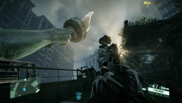 crysis 2 screenshot Crysis 2 – Review