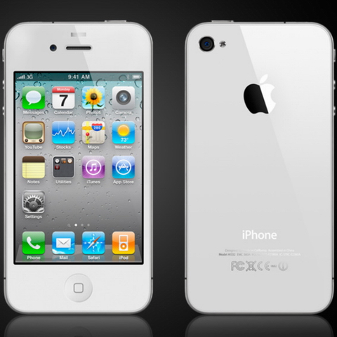 iPhone 4 white White iPhone 4 coming soon to the US