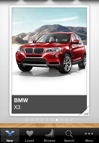 iad gallery The iAd Gallery App from Apple