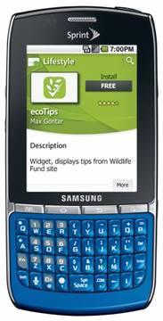 samsung replenish Sprint introduces the environment friendly Samsung Replenish