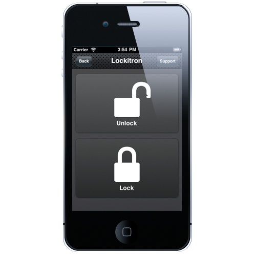 lockitron Lockitron uses iPhone App & NFC to Unlock your Door Locks