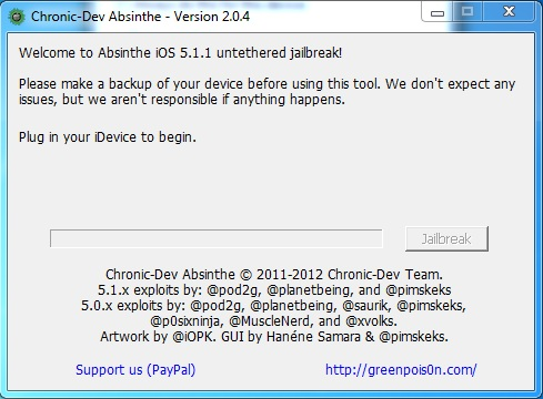 3 How to jailbreak your iPad Absinthe (Windows) [5.1.1]