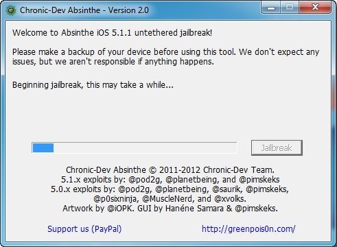 4 How to jailbreak your iPad Absinthe (Windows) [5.1.1]