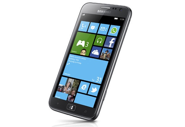 ATIV S front Samsung ATIV S the first WP8 Phone