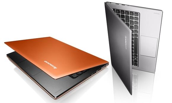 Lenovo u300 Top five ultra books for 2012