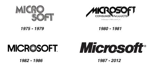 Previous logos Microsoft Logo Makeover