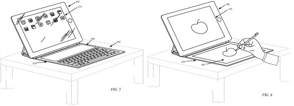 patent 120802 2 Apple to add Secondary Display in Smart Cover