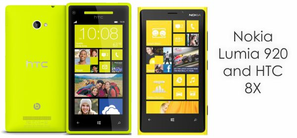 8x vs lumia 920 HTC 8X and Nokia Lumia 920 a comparison