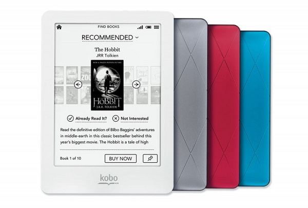 Kobo glo Three new readers announced by kobo
