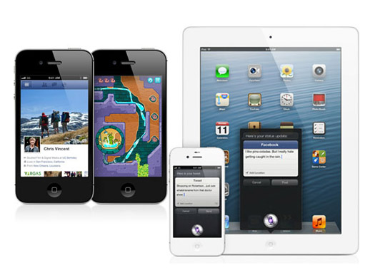 Siri ipad iOS 6 features, Whats New & Improved?