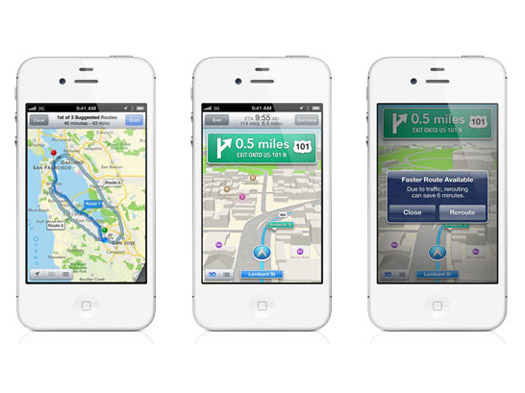 Turn by turn iOS 6 features, Whats New & Improved?