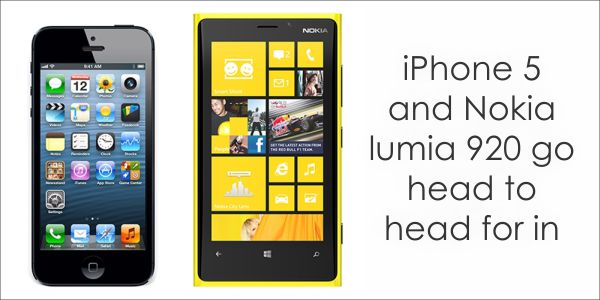 lumia vs ipphone Apple iPhone 5 vs Nokia Lumia 920, A Comparison
