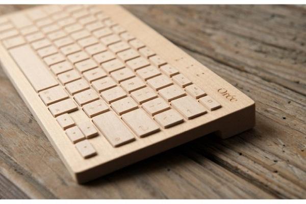 Wood + Tech + Design = Oree Wooden Keyboard