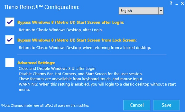 retroui How to Get Old Windows Interface with Start Menu in Windows 8