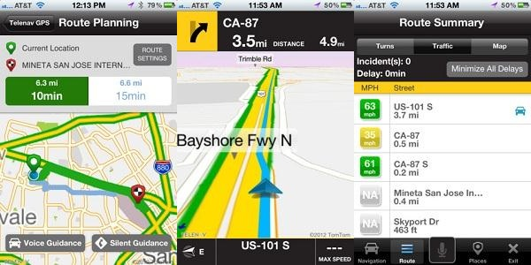 telnav Top 5 Apple Maps Alternatives
