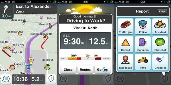 waze Top 5 Apple Maps Alternatives