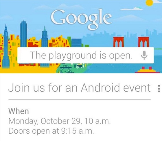 Android Event New York Google Sends out invitation to its event, rumor roundup