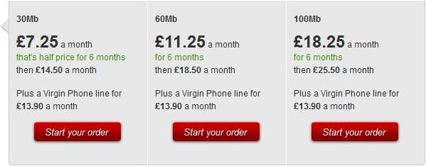 virgin broadband provider Virgin media braodband, fastest internet provider in Great Britain
