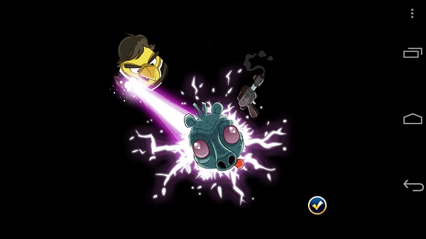 Angry birds star wars yellow bird1 Angry Birds Star Wars review