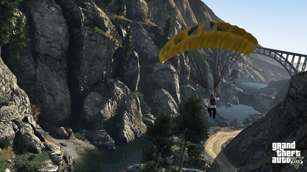 GTA V screenshots basejumping Pre orders for Grand Theft Auto V, trailer and screenshots inside