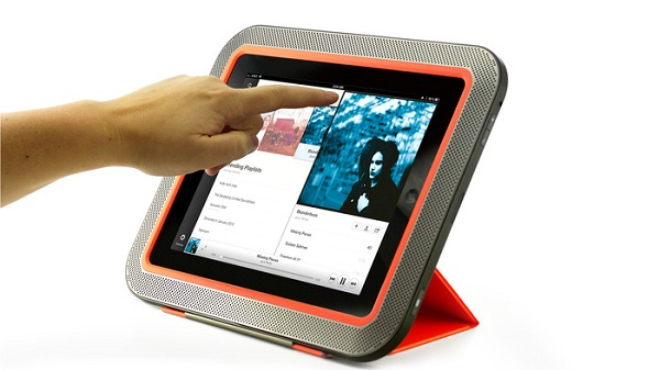 ORA Hate low volume on the impressive iPad? Try this accessory