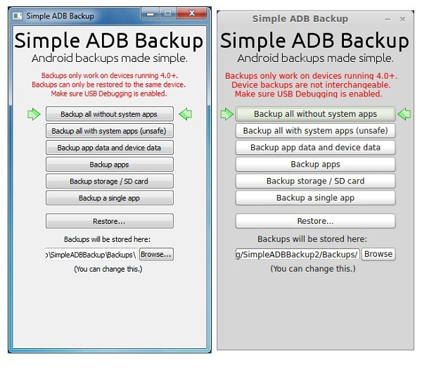 jpg Simple ADB Backup lets you backup your Android device without rooting it