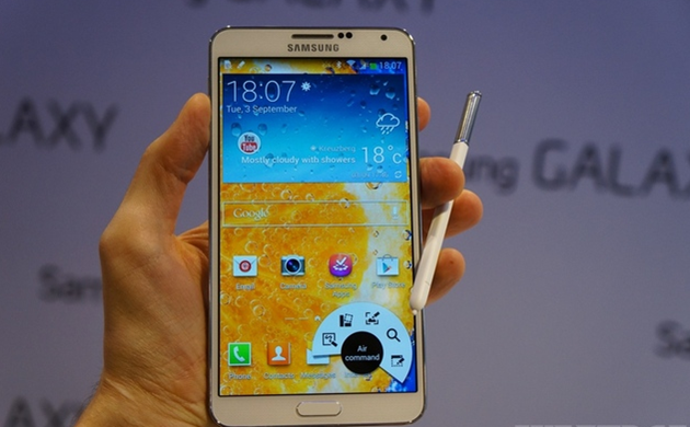 NOTE 3 NOTE 3 Revealed By Samsung, Likely To Be Launched in Q4 2013